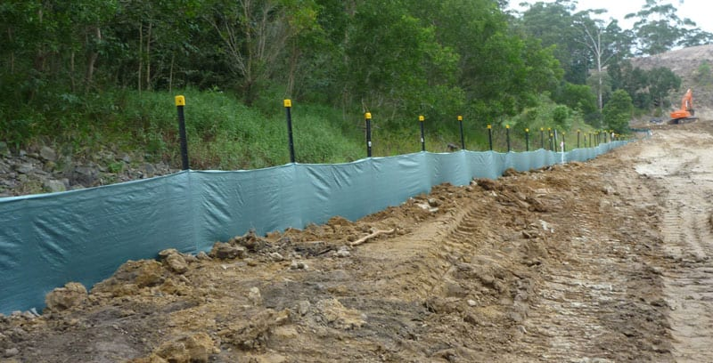 Heavy Duty Silt Fence