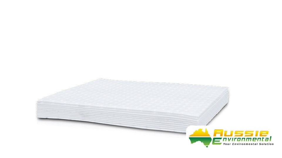 10 Pack Absorbent Pads Oil Fuel