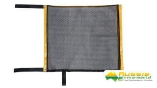 Reuseable spill mat oil fuel main