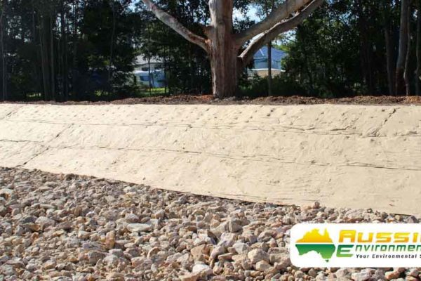 Jute Matting Installation From Aussie Environmental