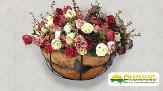 Flower Wall Basket