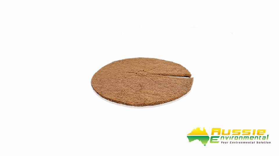 Coir Discs Small 36cm Tree Surrounds 2
