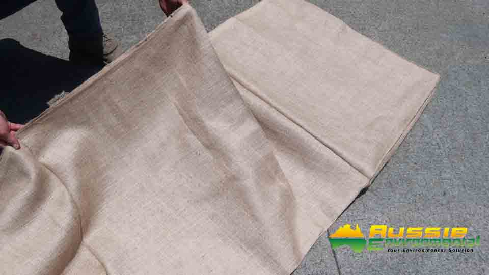 Jute Hessian Lightweight Bale open v1