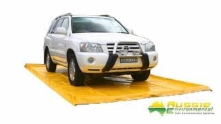 Portable Vehicle Wash Mat wash bay
