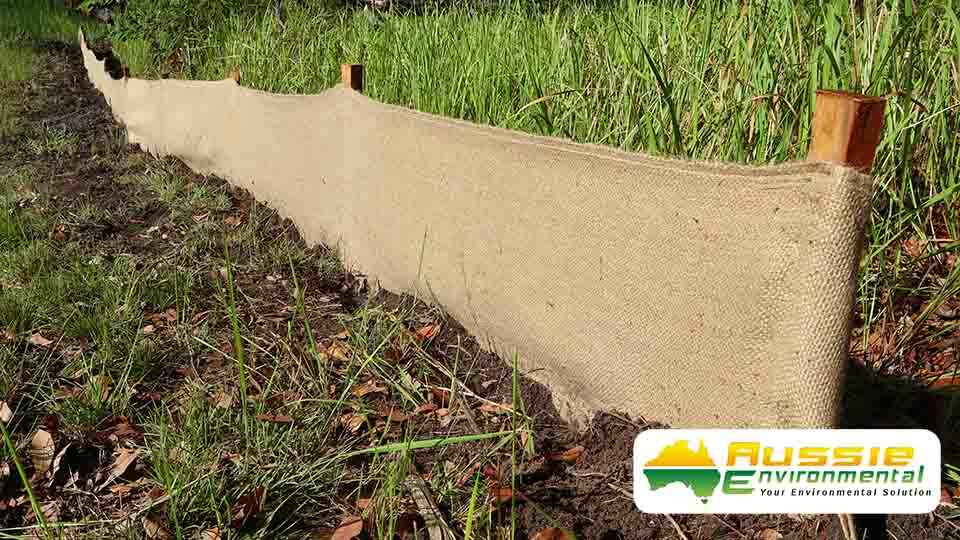 Biodegradable Silt Fence