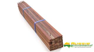 Timber Stakes tree guards 50 900mm Tree Guards Stakes Corflute 2 1