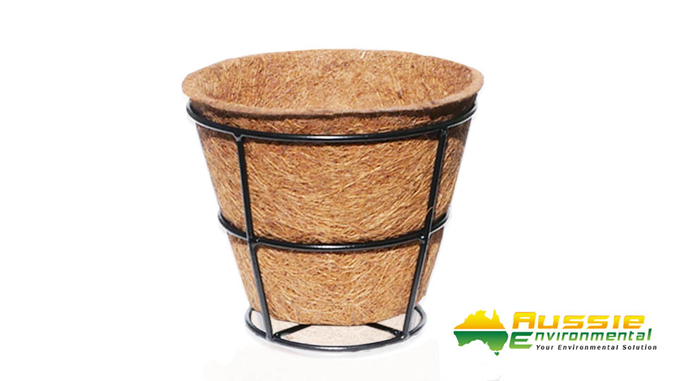 Coir Pot with Stand