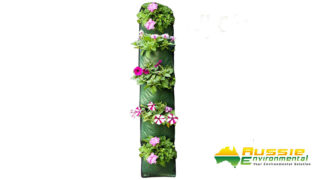 Wall Planter 5 rows Flower Wall2